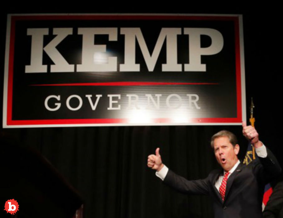 Report Finds Obvious: Brian Kemp Made Up Dem Hacking Claim