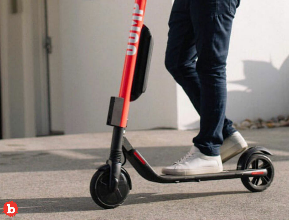 Bank Robber Nabbed After Police Track E-Scooter