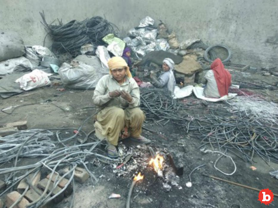 Child Labor in Indias E-Waste Toxic Hellscapes