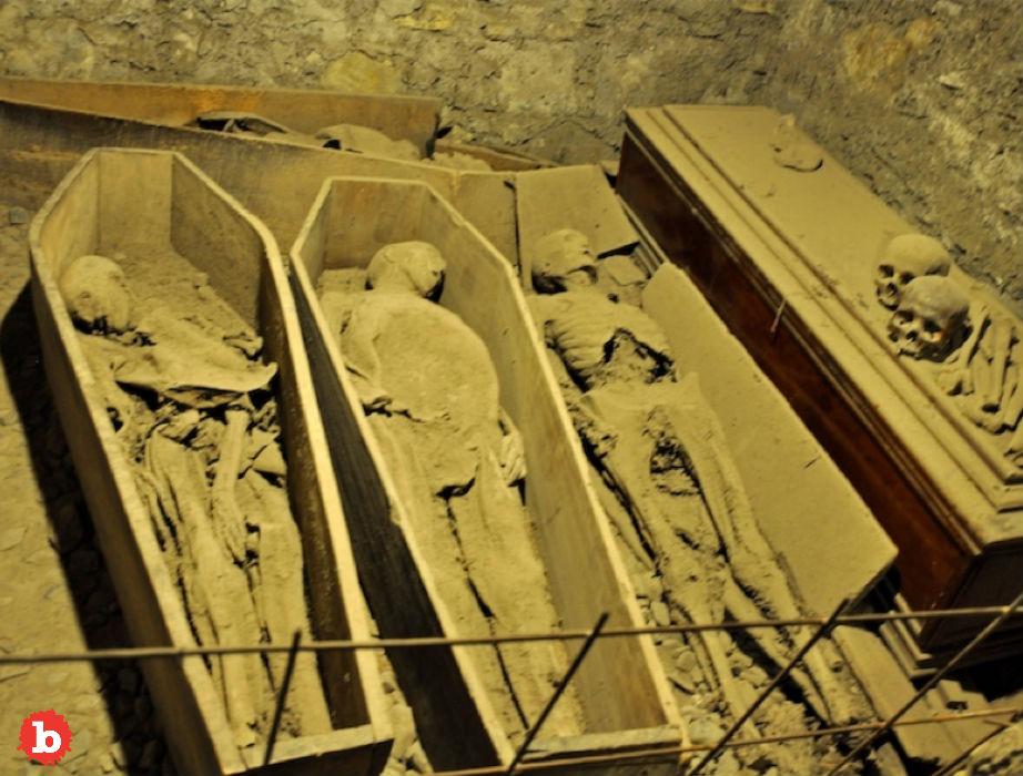 Vandals Steal 800-Year-Old Irish Mummy Head