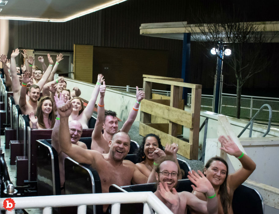 British Nudist Group Takes Aim at Naked Roller Coaster Record