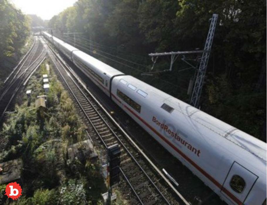 Drunk German Man Demands High-Speed Train to Slow