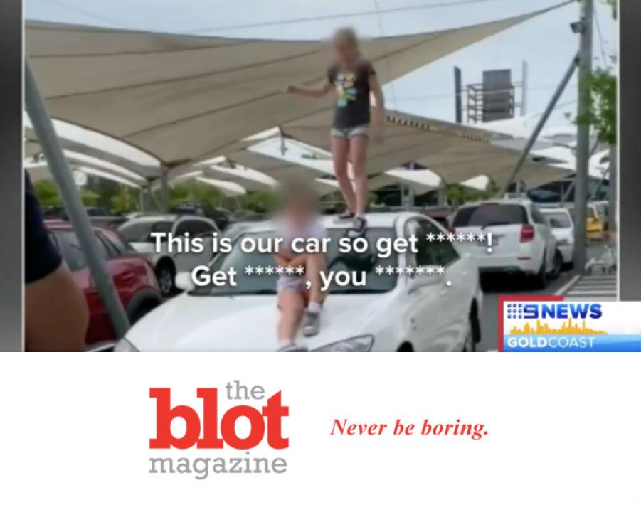 Two Nine-Year-Old Girls Terrorize Australian Shopping Mall