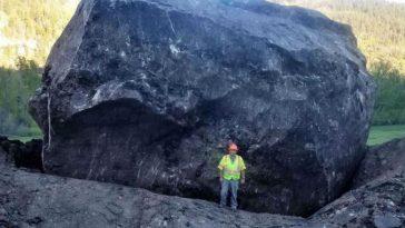 Too Big to Move, Colorado Landslide Boulder to Be Landmark