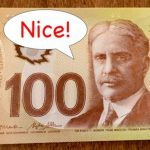 Mysterious Canadian Leaves 100 Bills and Uplifting Notes