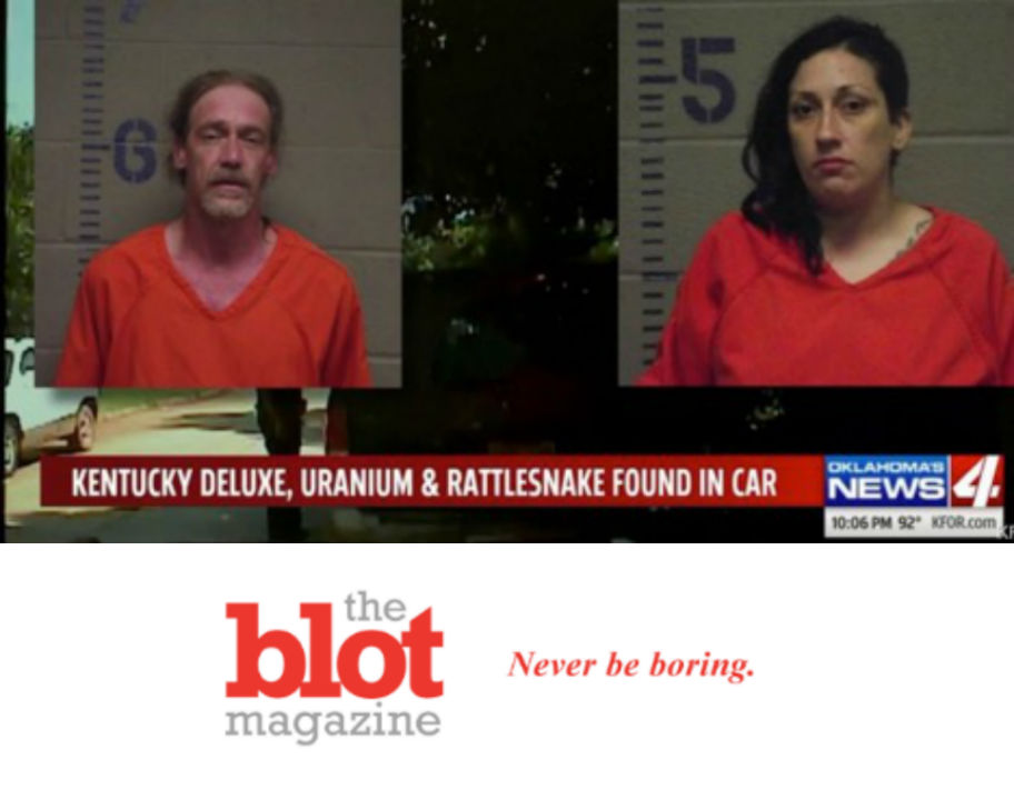 Police Arrest Couple in Car With Pet Rattlesnake, Booze and Uranium