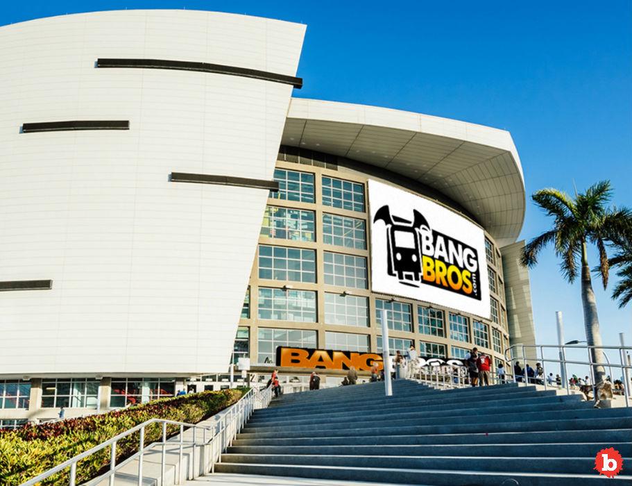 BangBros Porn Site Applies to Rename Miami Heat Arena