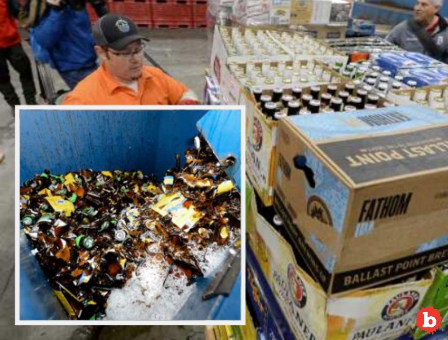 With Change in Utah State Law, Utah Destroys 1,000s of Gallons of Beer