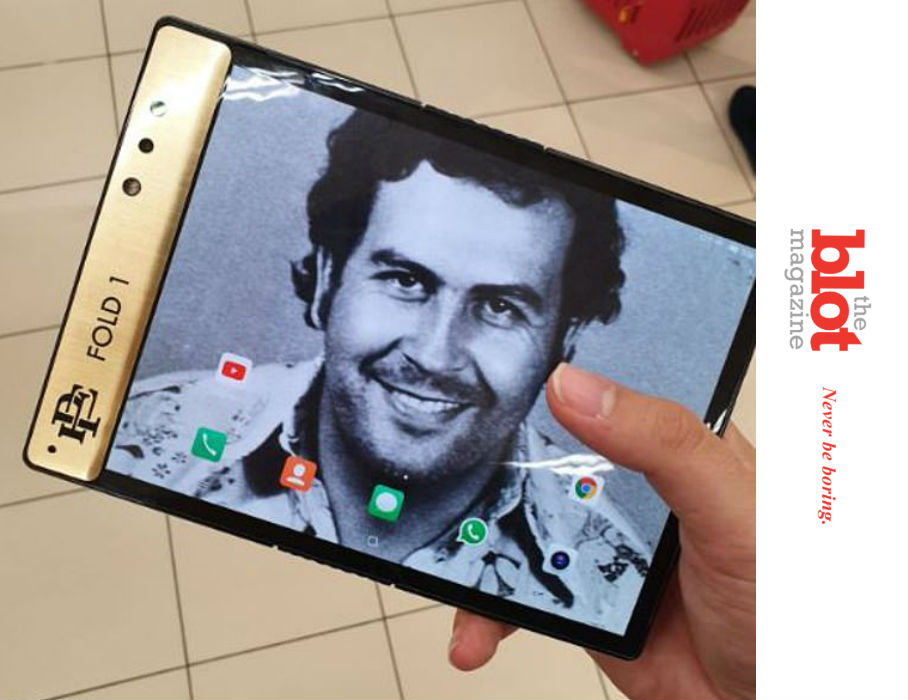 iPhone Has Competition from Pablo Escobar's Brother?