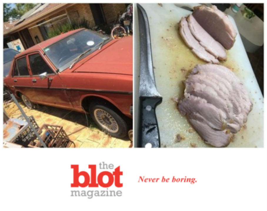 Australian Man Uses Car to Make Pork Roast in Heat Wave