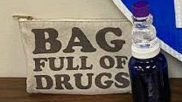 Police Catch Drug Smugglers With Bags Marked, Bag Full of Drugs