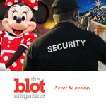 Disney Goes Vegas as Minnie in Cat Fight, Mickey & Goofy Bouncers