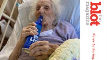 Feisty Grandma Jennie Stejna, 103, Beats Covid and Has a Bud Light