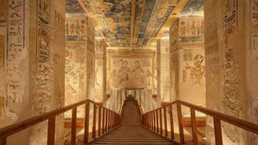 Bored With Covid Closeting? Visit Ramesses VI Tomb in 3D Virtual Tour