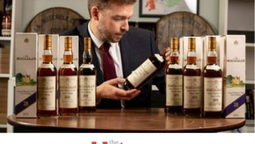 28 Years of Birthday Macallan Whisky Sells as Collection, Enough to Buy House