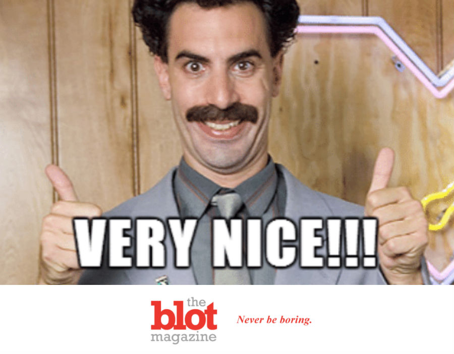 Borat Return Infects Kazakhstan, New Slogan is Now Very Nice