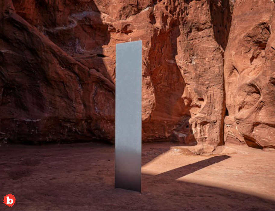 Weird: Mystery Utah Monolith First Appears, Gets Press, Disappears