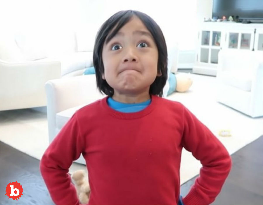 9-Year-Old Boy Ryan Kaji Tops YouTube 2020 Earners