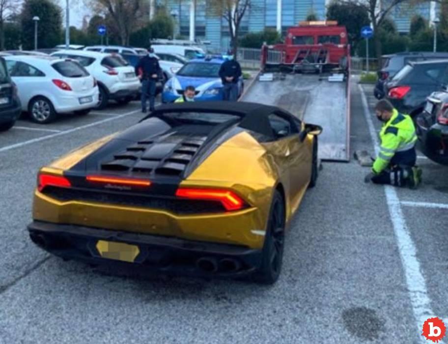 Scumbag Limey Millionaire Drives Lambo Huracan to Italy to Stalk, Threaten Mistress