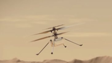 NASA Mini Chopper Ingenuity Will Fly With a Piece of Wright Brothers Plane