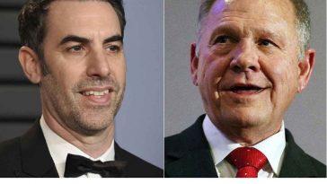 Judge Tosses Cowboy Reprobate Roy Moore's Suit Against Sacha Baron Cohen