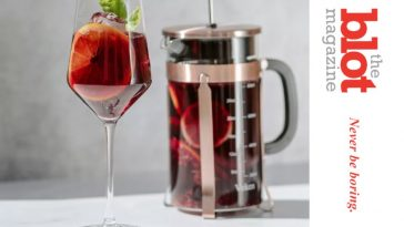 Turn Your French Press Into A Summer Sublime Sangria Maker