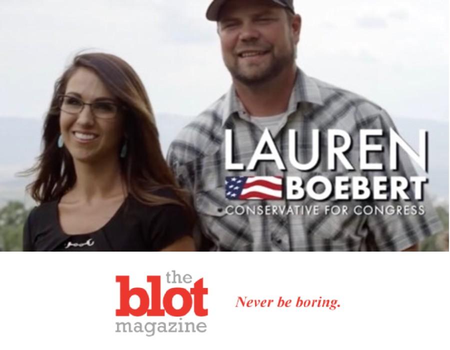 Crazy GOP Congresswoman Lauren Boebert's Hubby An Exposure Convict