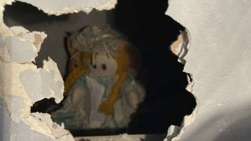 Liverpool Homeowner Finds Creepy Doll in Wall, With Note of Murders
